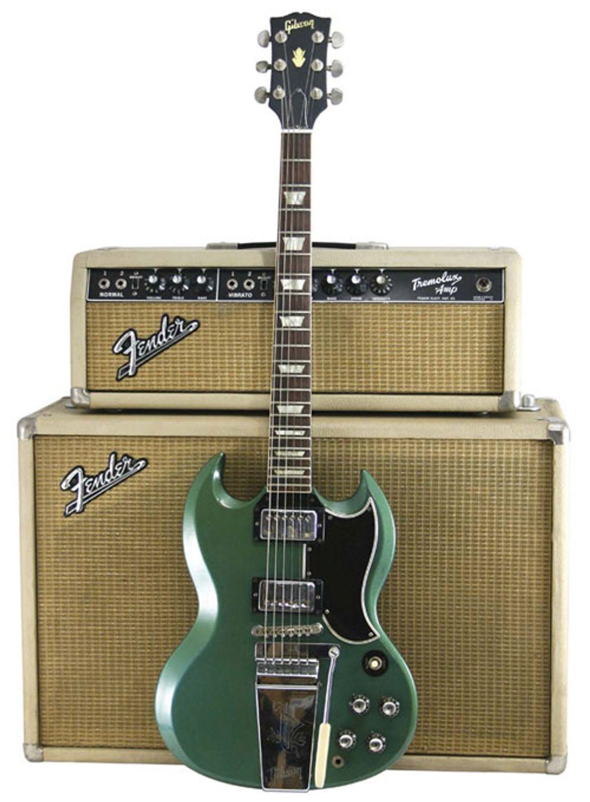 1965 Gibson SG in Pelham Blue Serial No. 505348