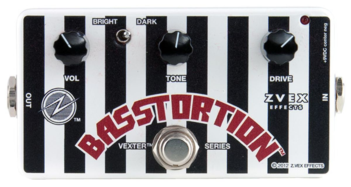Z.Vex Basstortion Pedal Review