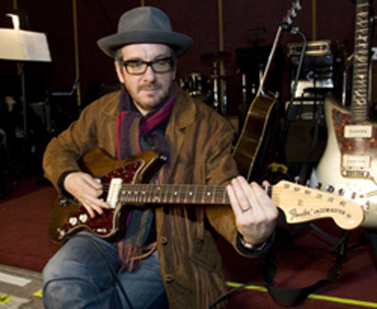 Fender Introduces Elvis Costello Signature Jazzmaster
