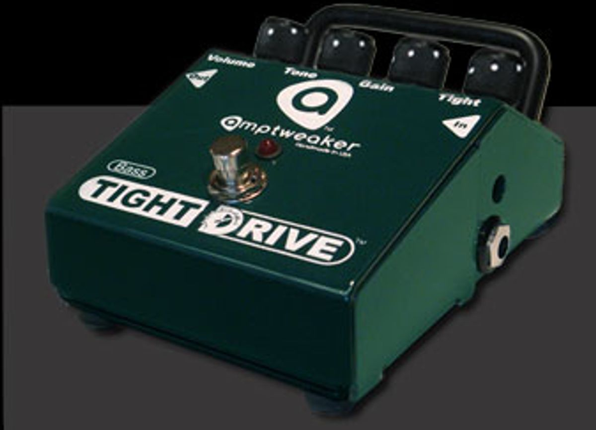 Amptweaker Announces Bass TightDrive Pedal