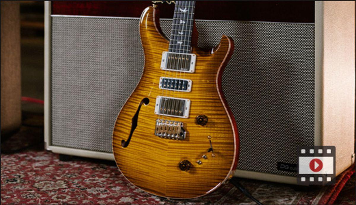 PRS Guitars Studio, Special Semi-Hollow & Narrowfield Pickups Demos - Winter Gear Slam '21
