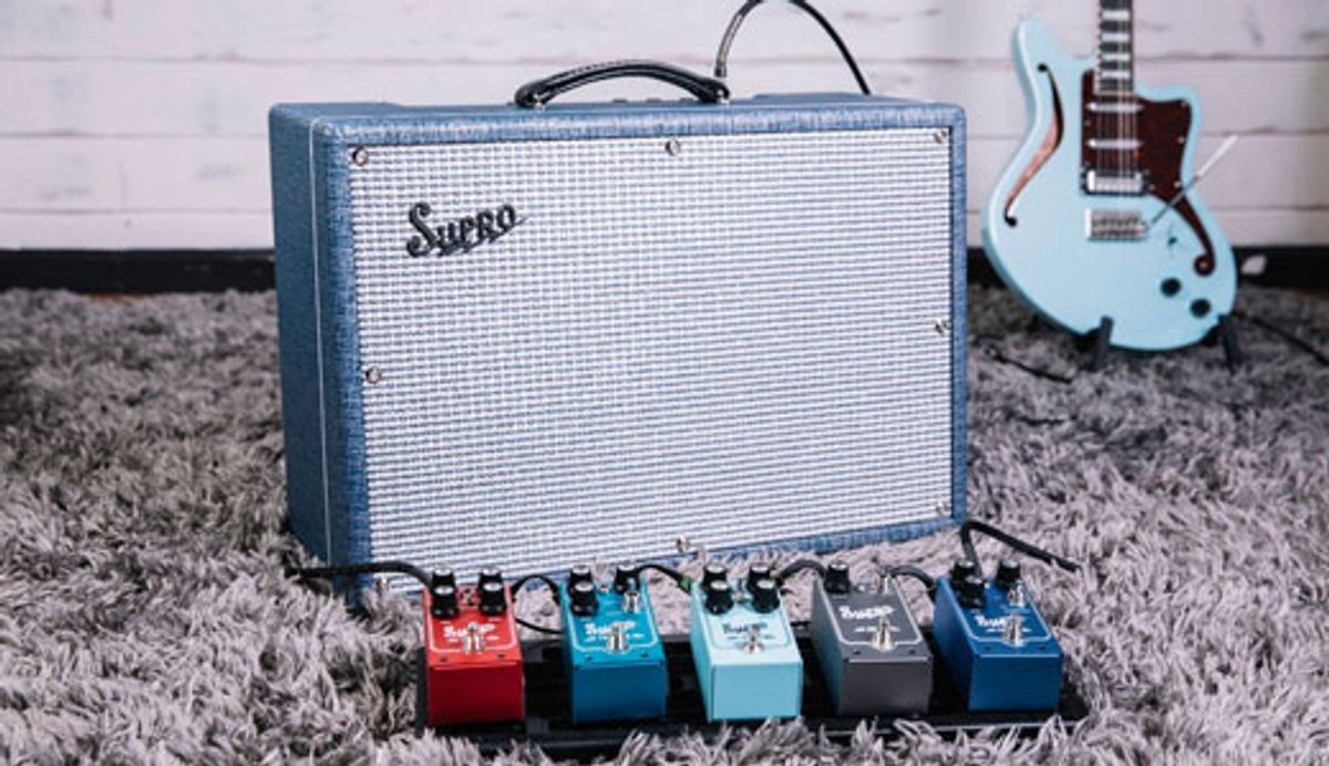 Supro Unveils the New Keeley Custom 12