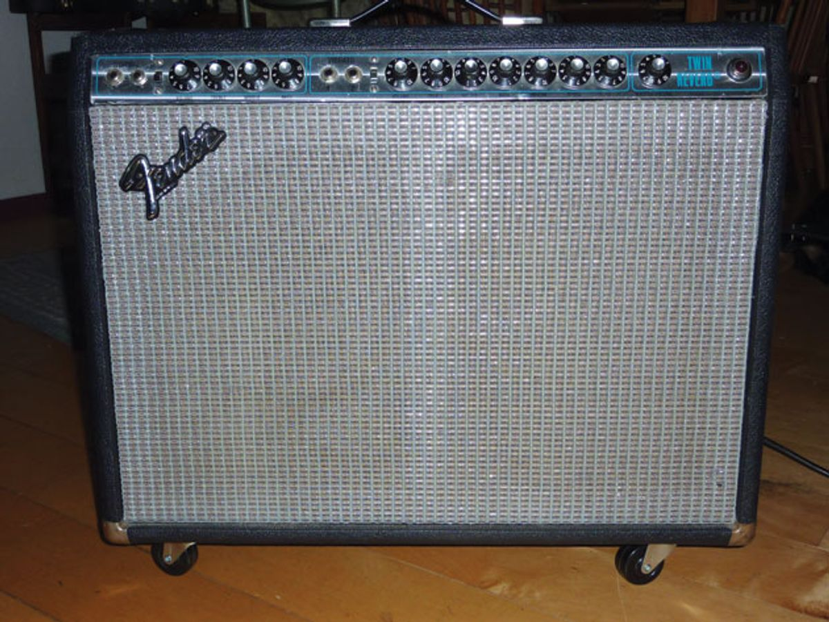 Ask Amp Man: Restoring a 1979 Fender Twin Reverb