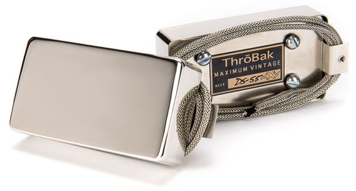 ThroBak Pickups Unveils the DS-55 Double Slug