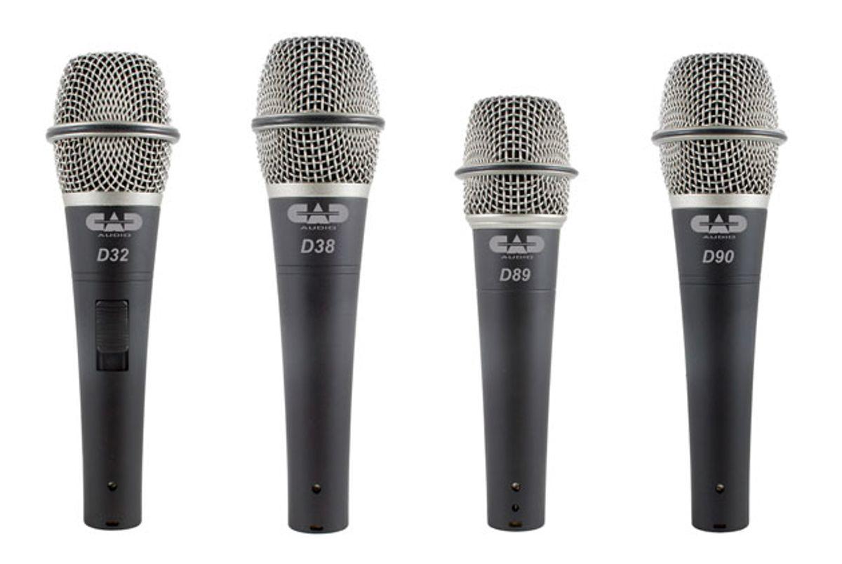 CAD Audio Expands Line of CADLive Mics