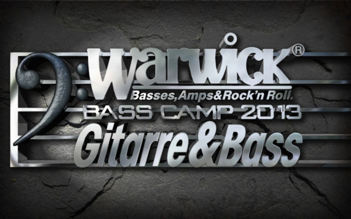 Warwick Presents Bass Camp 2013