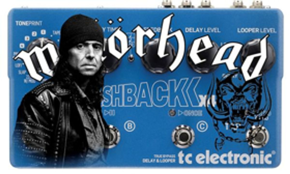 TC Electronic Teams up with Motörhead's Phil Campbell