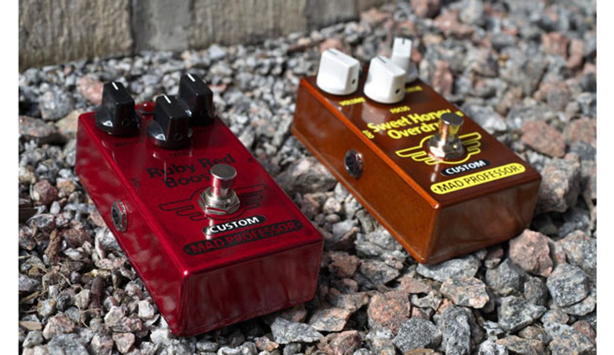 Mad Professor Amplification Releases Limited-Edition Modded Pedals