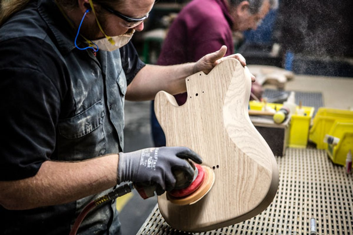 Fender to Discontinue Using Ash in Production Models