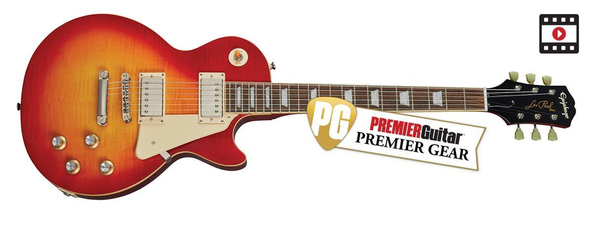 """Epiphone Joe Bonamassa 1960 Les Paul Standard """"Norm Burst"""": The Premier Guitar Review"""