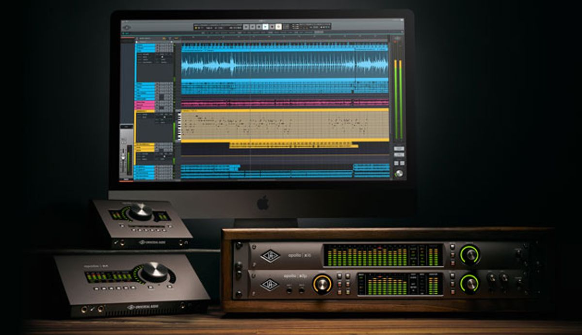 Universal Audio Releases the LUNA Recording System