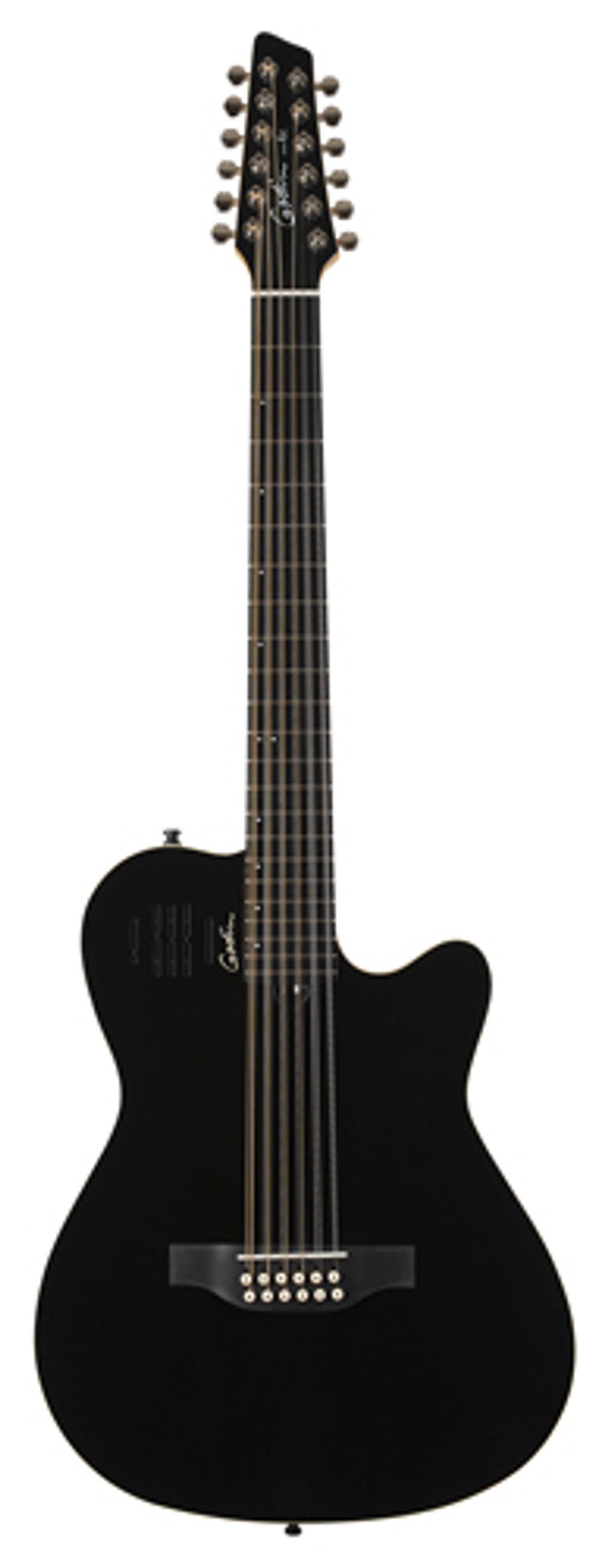 Godin Guitars Releases the A12 Black