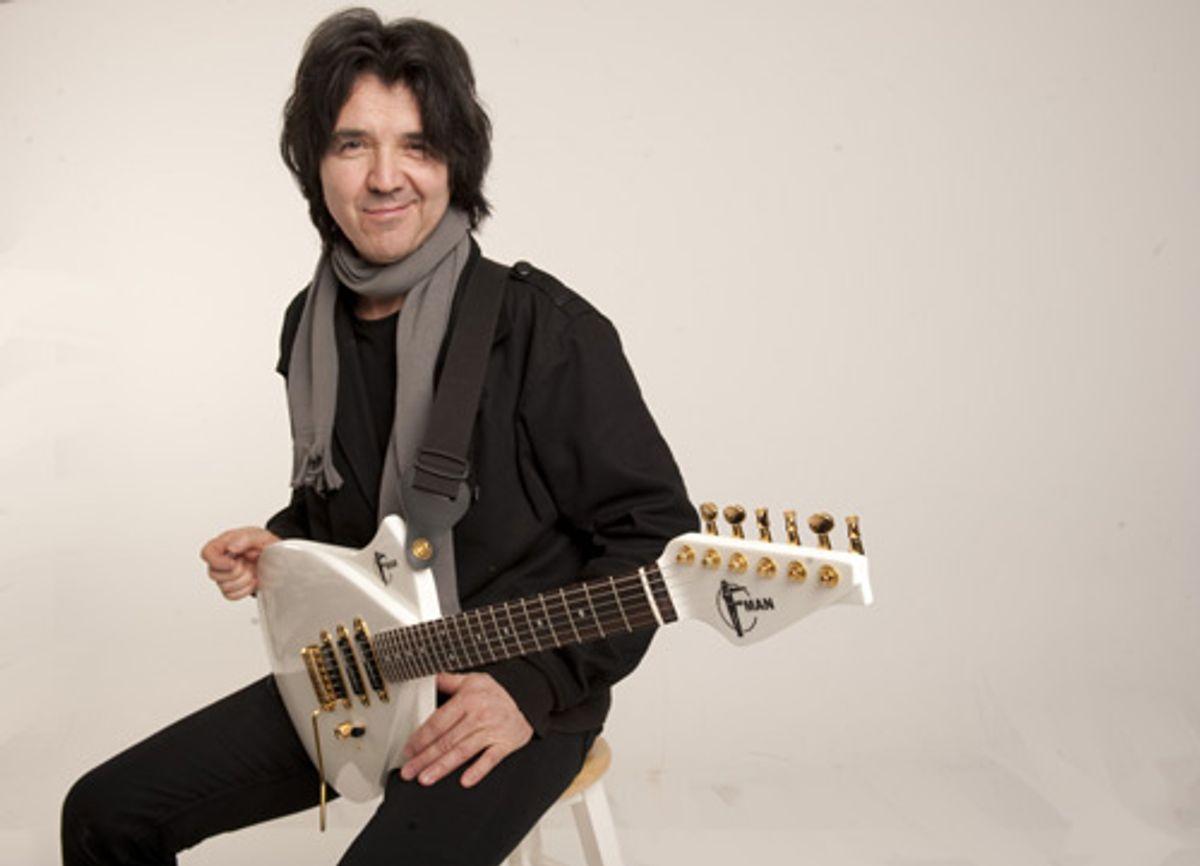 Campbell American Announces F-Man Guitar