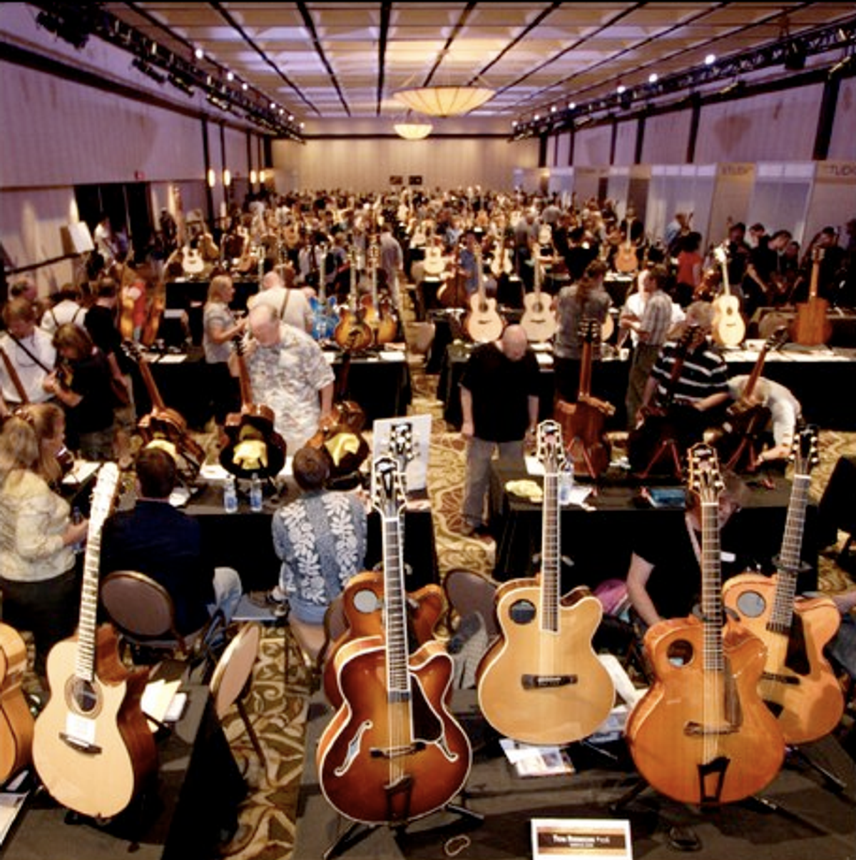 Montreal Guitar Show Now Features Electric Guitars