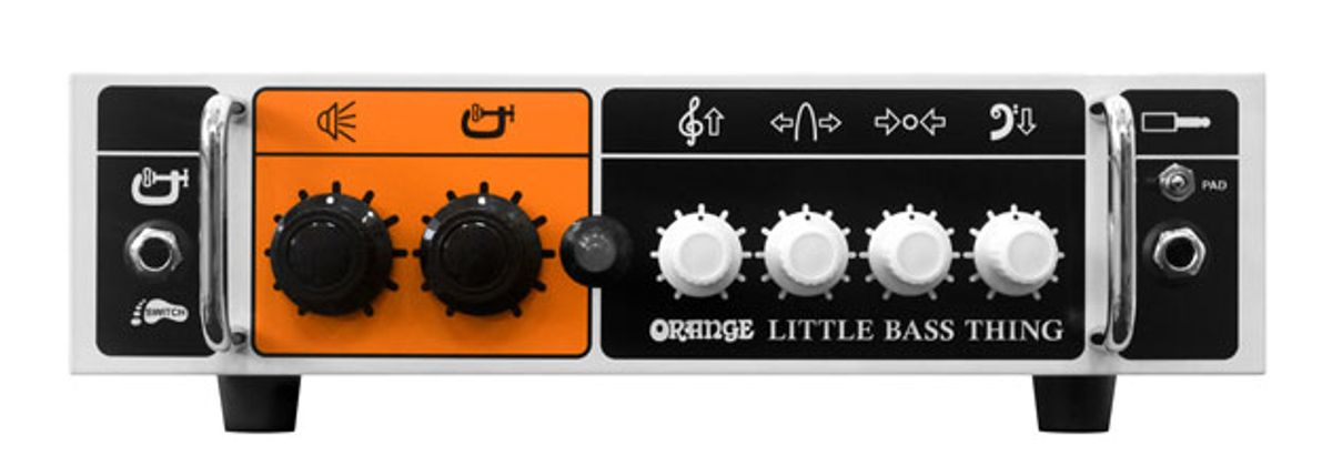 Orange Amps Releases the Bass Butler and Little Bass Thing