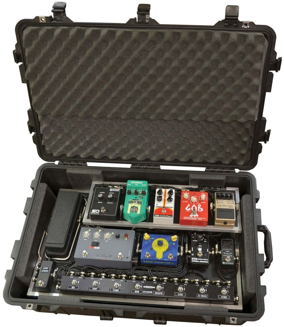 how to build fly pedalboard - homepage