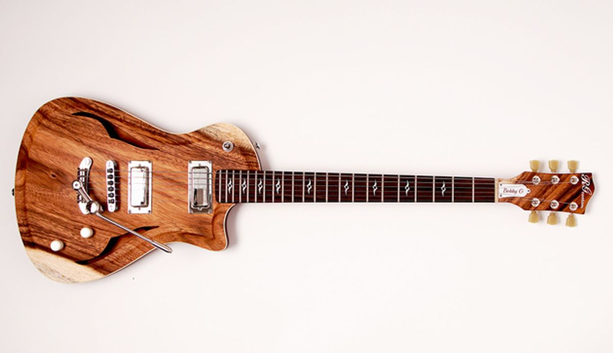 Gilmore Guitars Unveils the New Bobby G Model