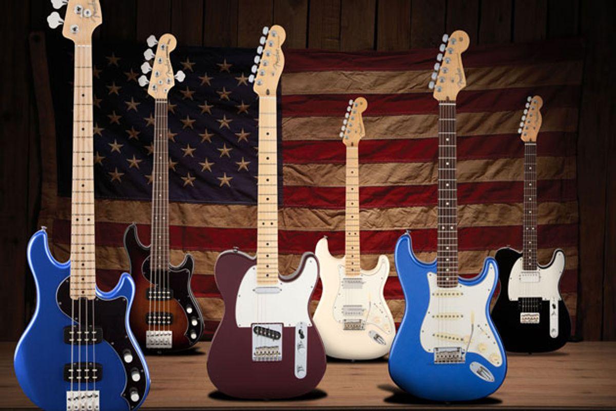 Fender Expands American Standard Series