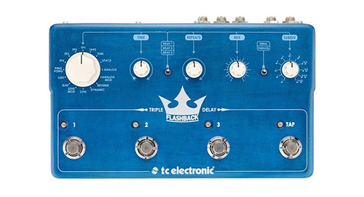 TC Electronic Unveils the Flashback Triple Delay