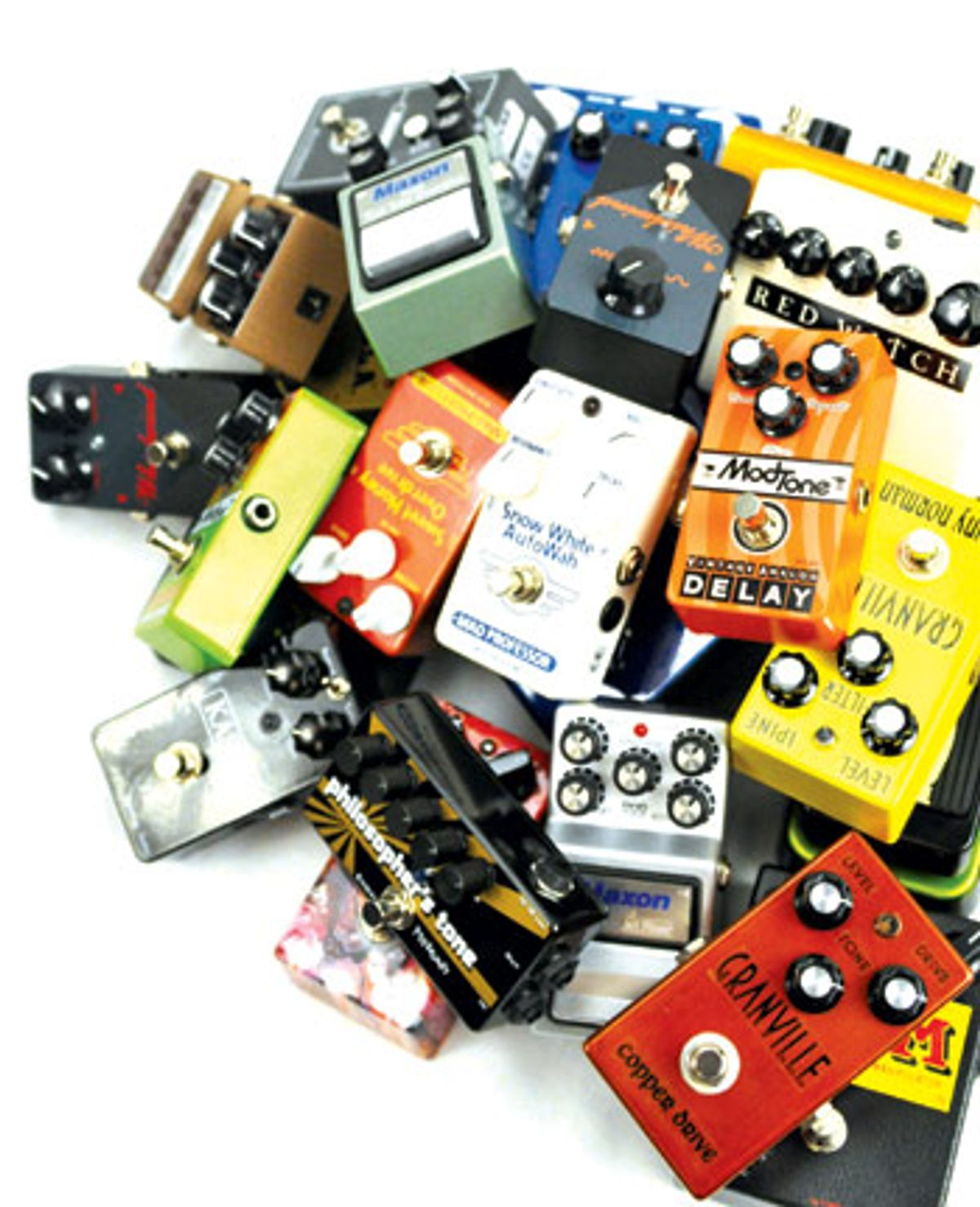 Stomping Grounds: 25 Pedals Reviewed