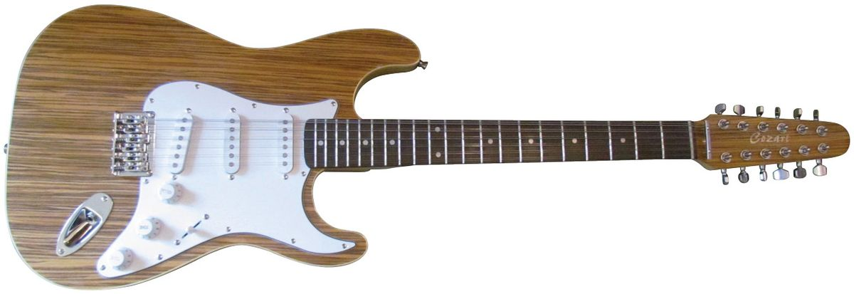 Will Ray's Bottom Feeder: Cozart 12-String S-Style