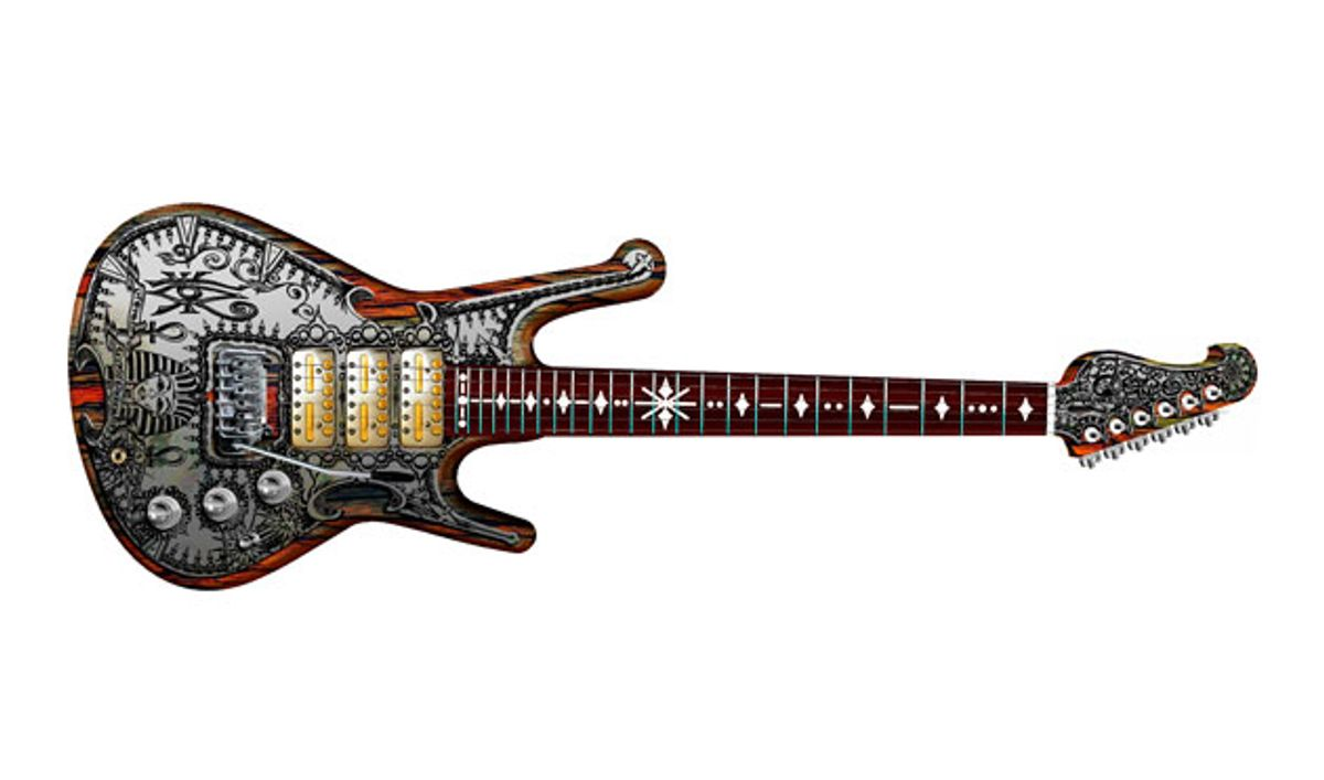 Teye Guitars Introduces the Gypsy Queen Model