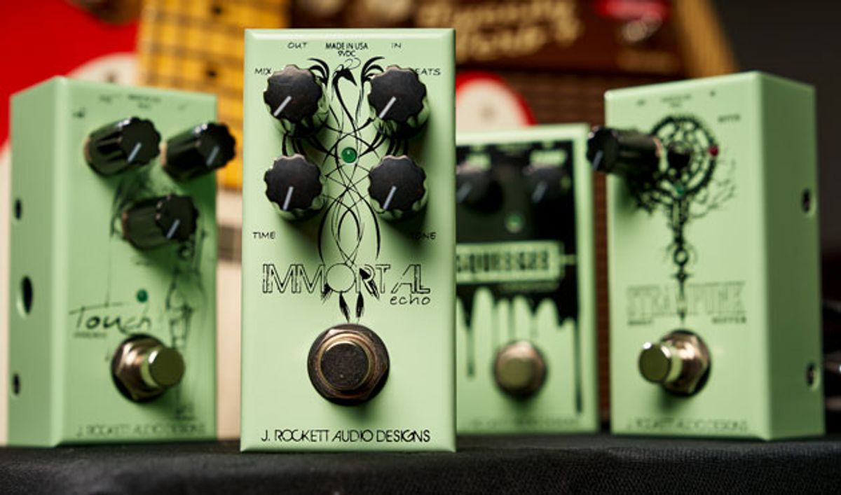 J. Rockett Audio Designs Releases the 10th Anniversary JET Series