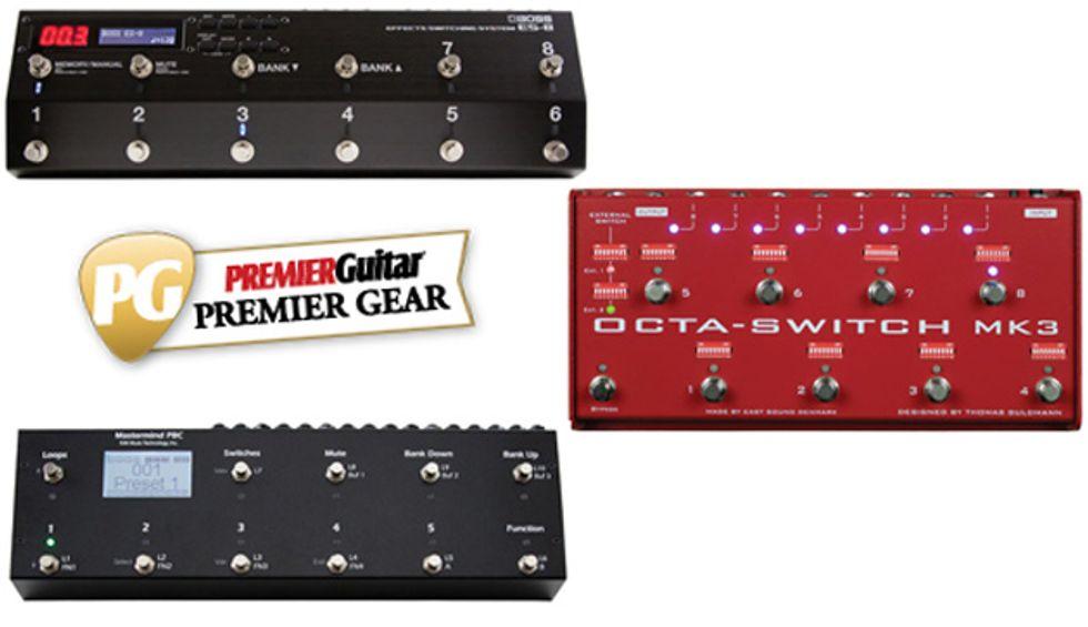 diy amp selector pedal