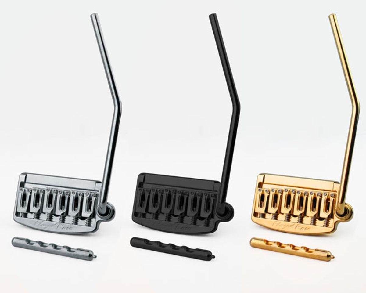 Floyd Rose Releases Rail Tail Non-Locking Tremolo