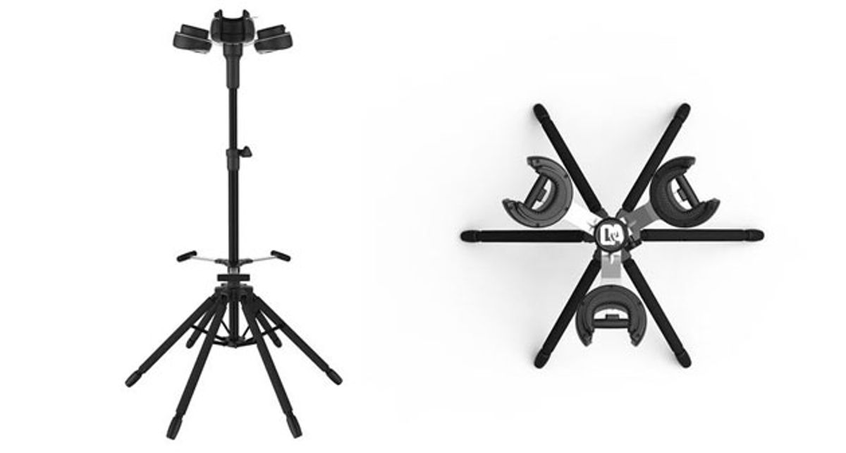 D&A Guitar Gear Introduces the Hydra Guitar Stand