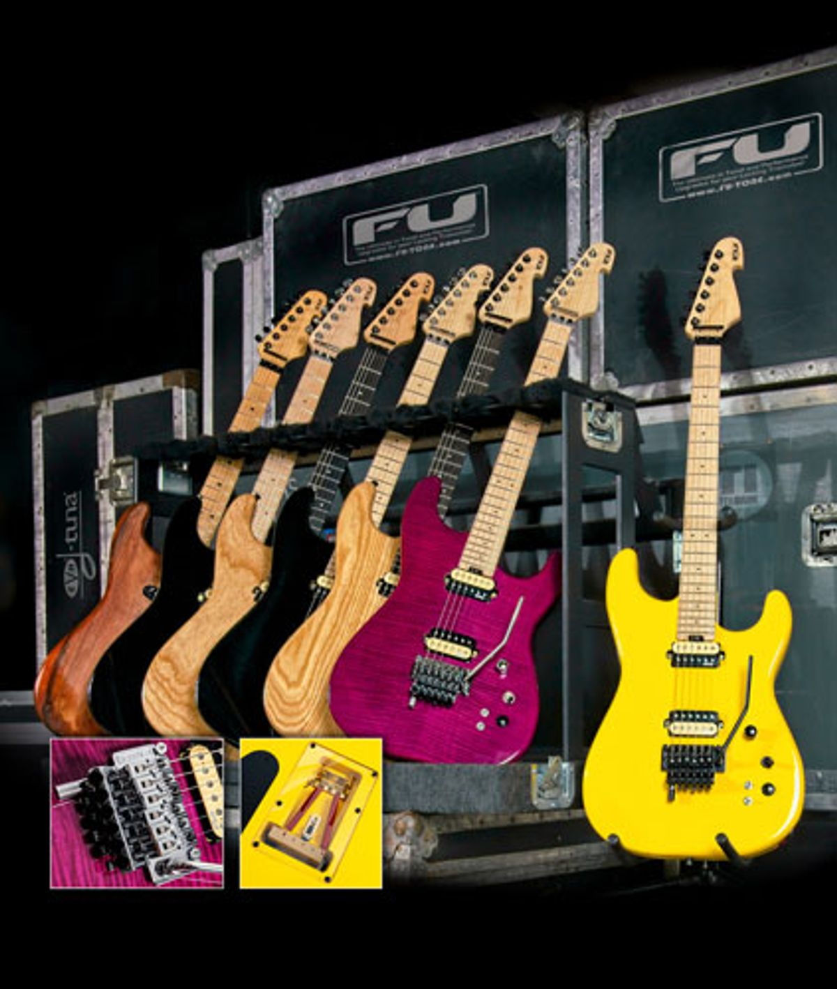 FU-Tone Introduces FU Pro Line of Guitars