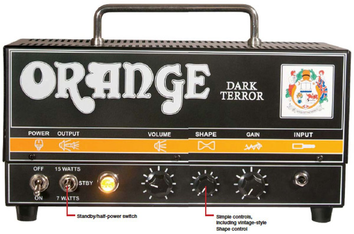 Orange Dark Terror Amp Review