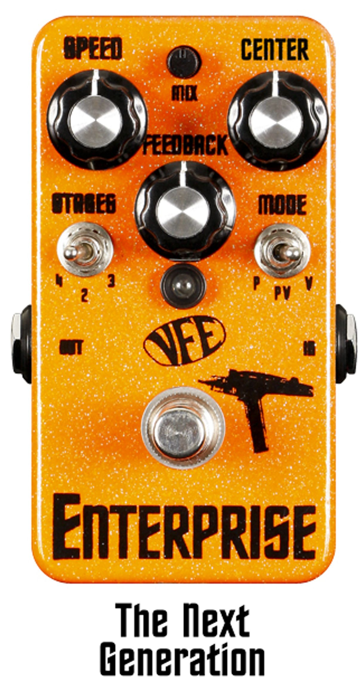 VFE Pedals Launches Kickstarter Campaign For Enterprise Phaser V2