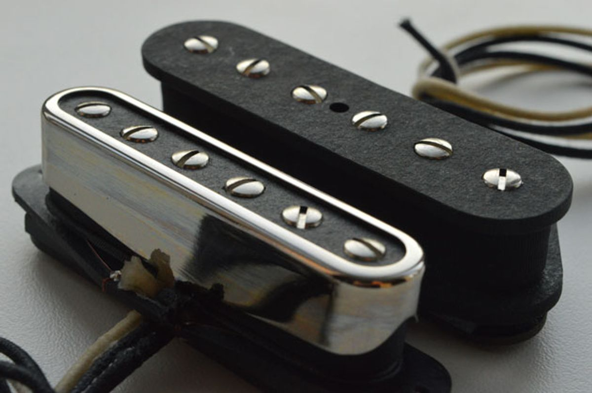McNelly Pickups Announces the T-Bar Tele Set