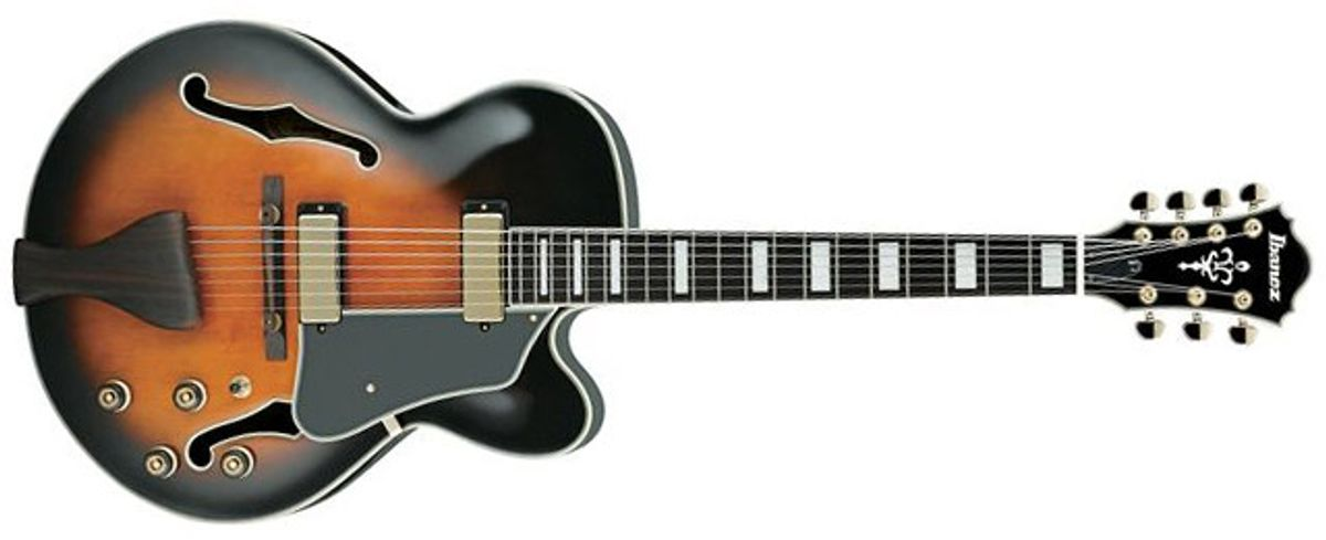Ibanez AFJ957 7-String Archtop Review