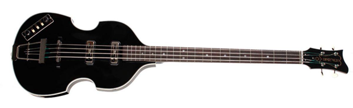 Höfner Introduces the Limited Edition Black Violin Bass