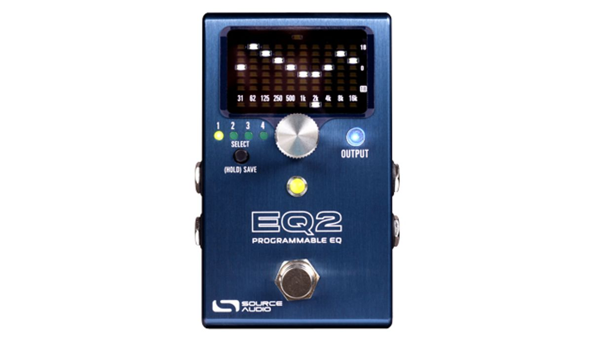 Source Audio Introduces the EQ2 Programmable Equalizer