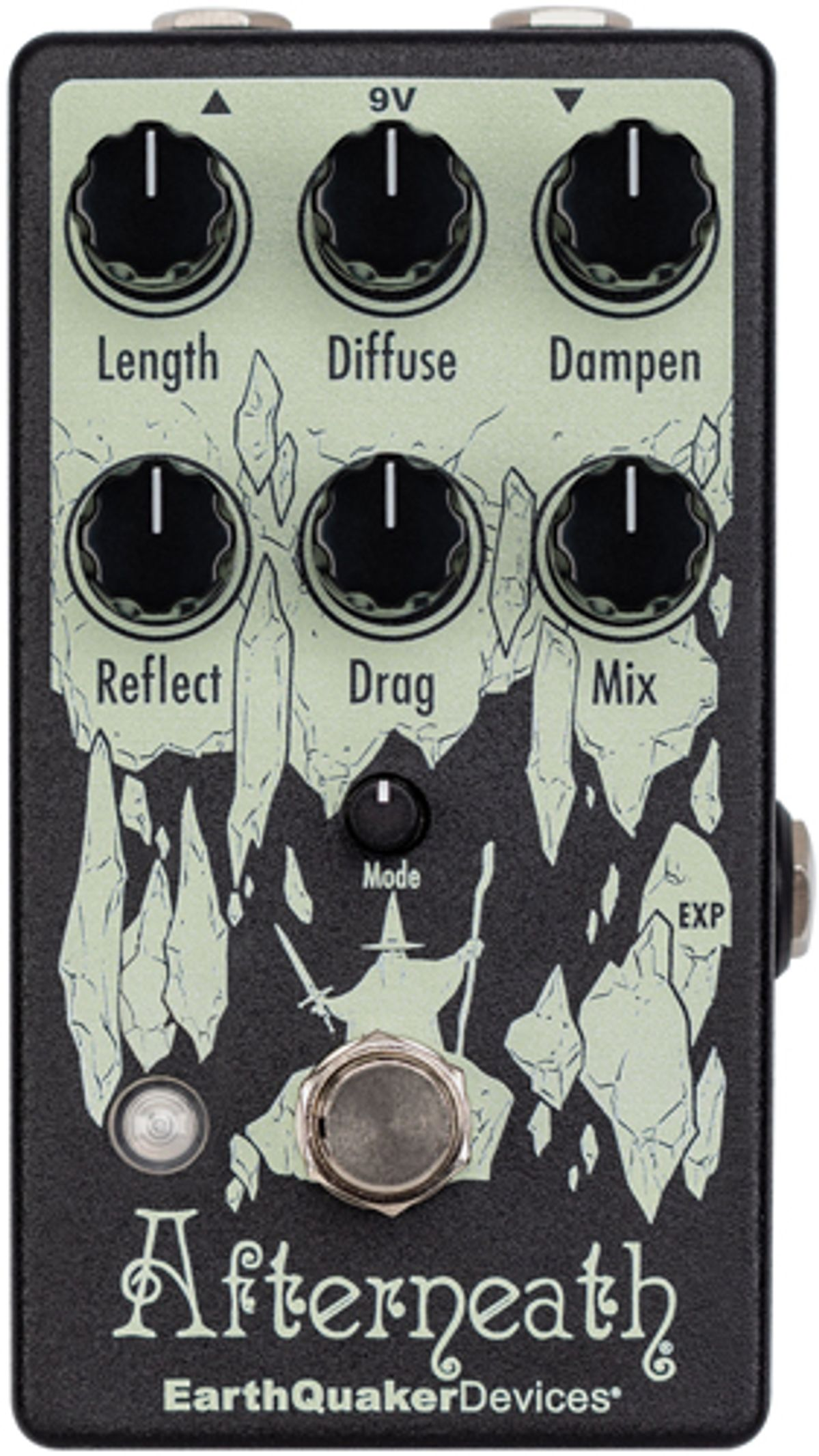 EarthQuaker Devices Updates the Afterneath Enhanced Otherworldly Reverberation Device