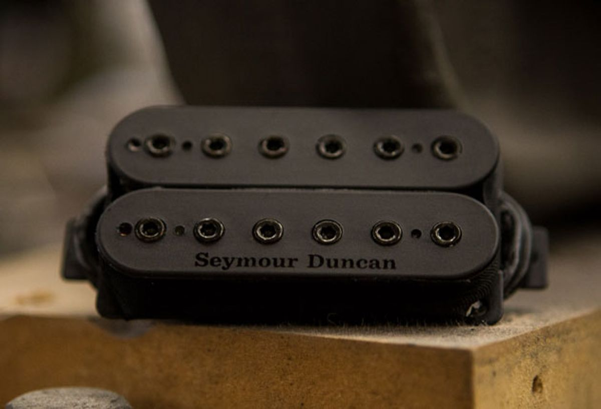 Seymour Duncan Introduces the Mark Holcomb Alpha & Omega Signature Pickups