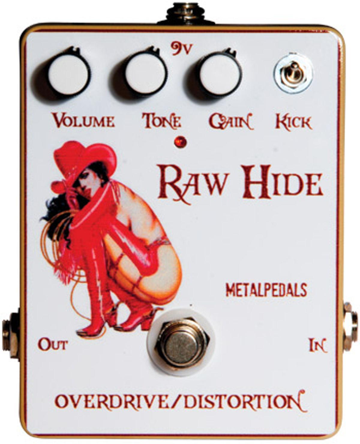 Metal Pedals Rawhide Overdrive Pedal Review