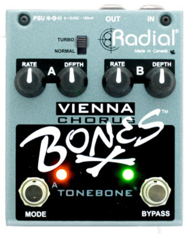 Radial Releases Bones Vienna Dual-Mode Analog Chorus