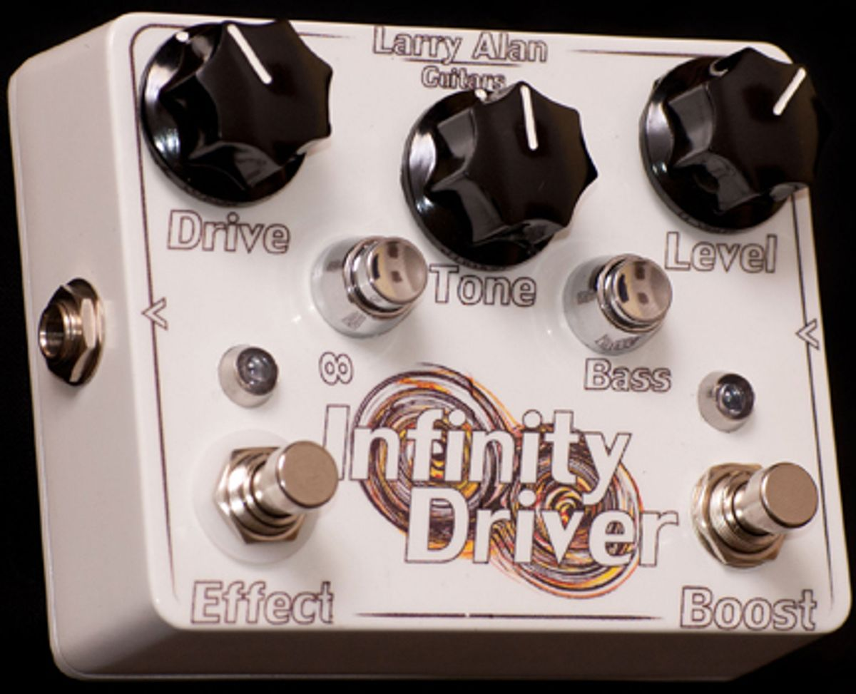 Larry Alan Guitars Introduces the New Infinity Driver Pedal