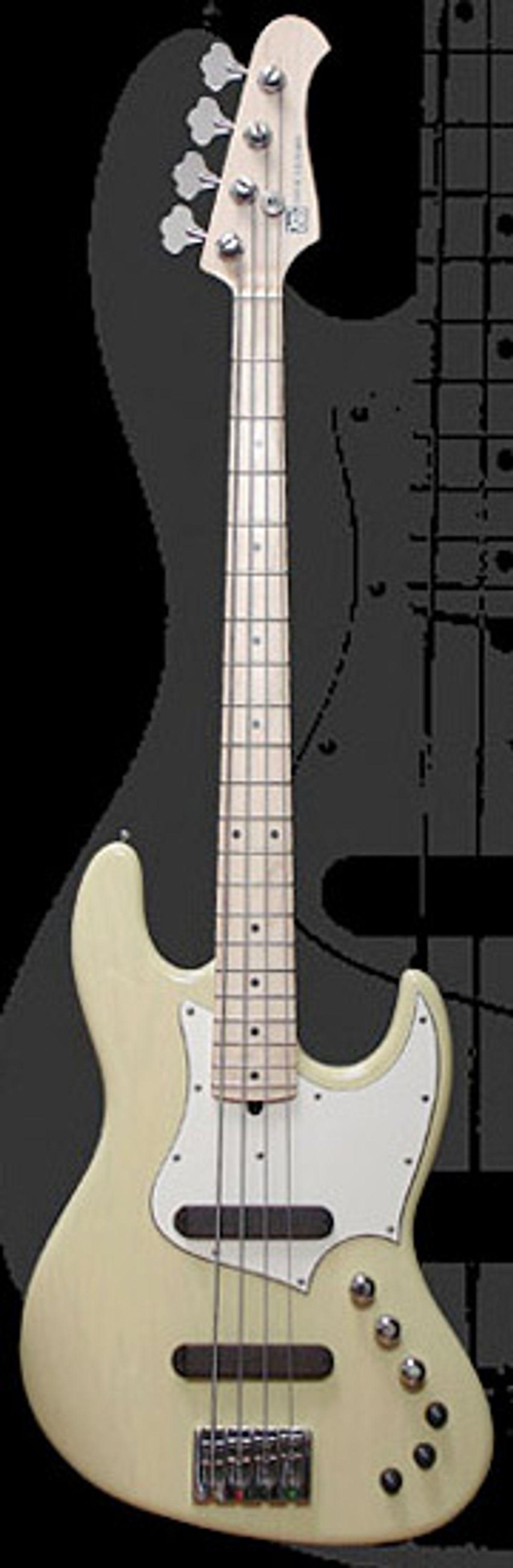 Xotic Announces XJ-1T 4-String Bass
