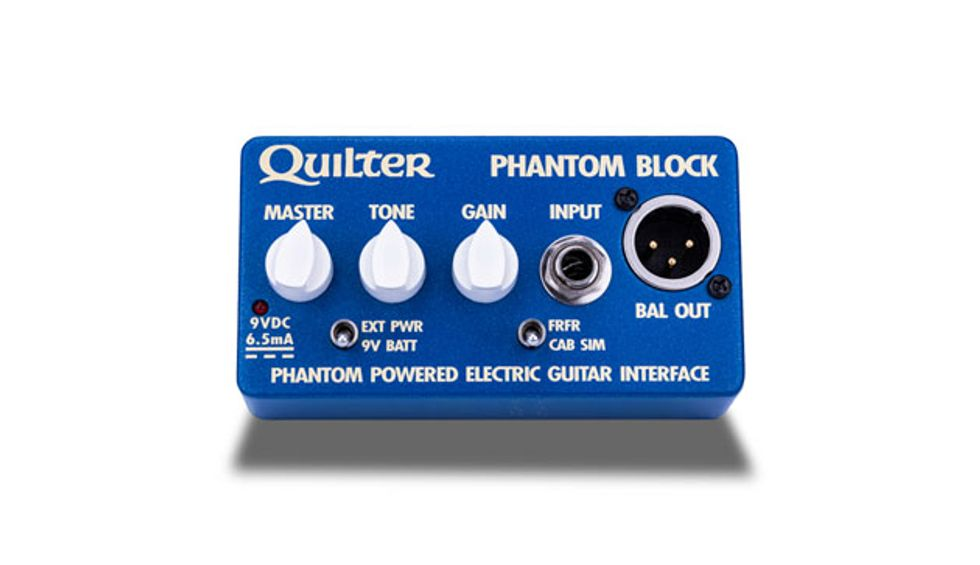 Quilter Labs Announces the Phantom Block