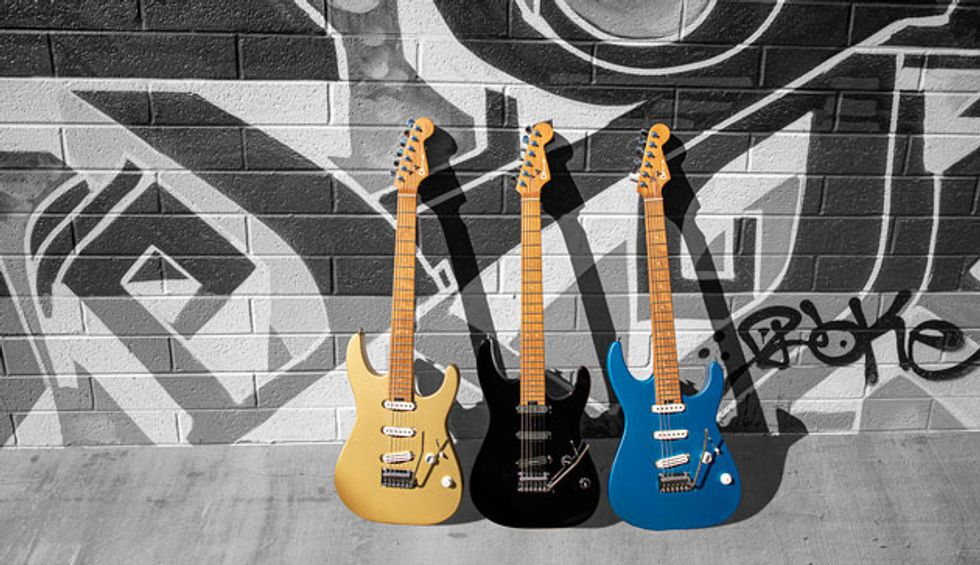Charvel Introduces New Pro-Mod DK22 and DK24 Guitars