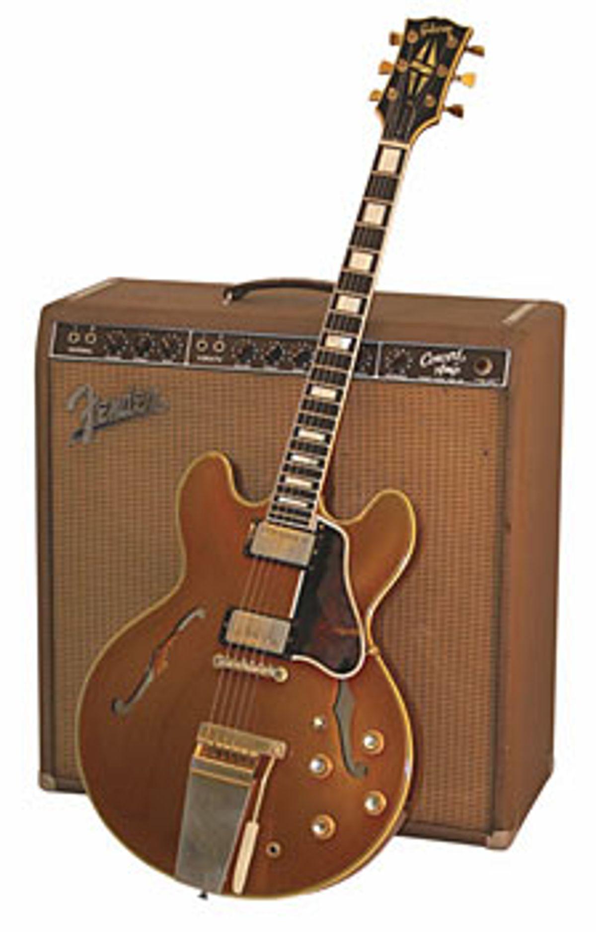 1965 Gibson ES-355 Mono Sparkling Burgundy
