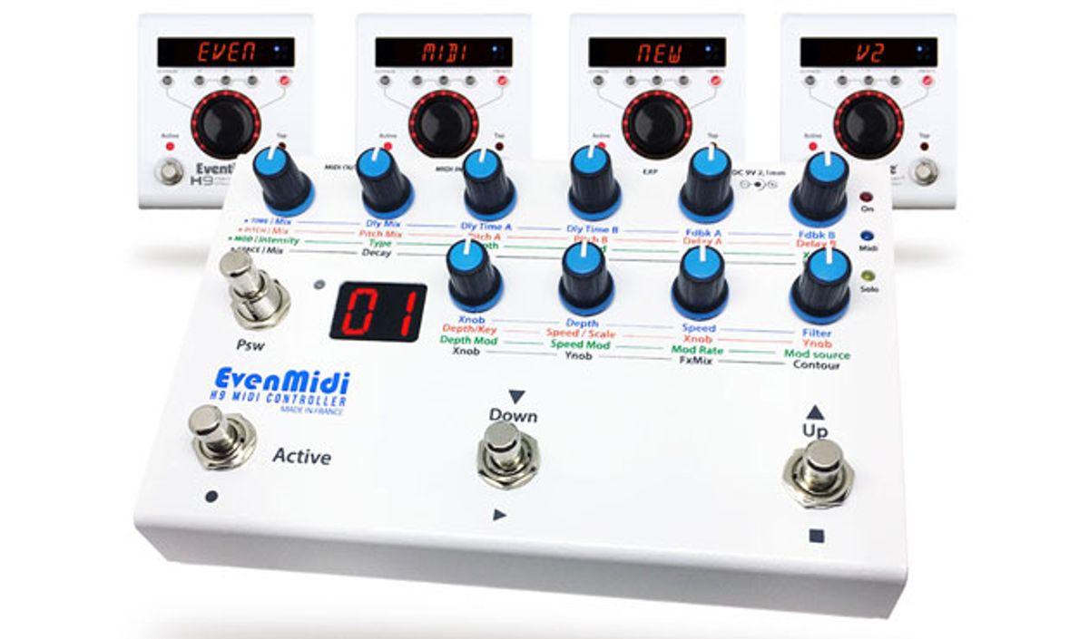 EvenMidi Launches Updated H9 MIDI Controller