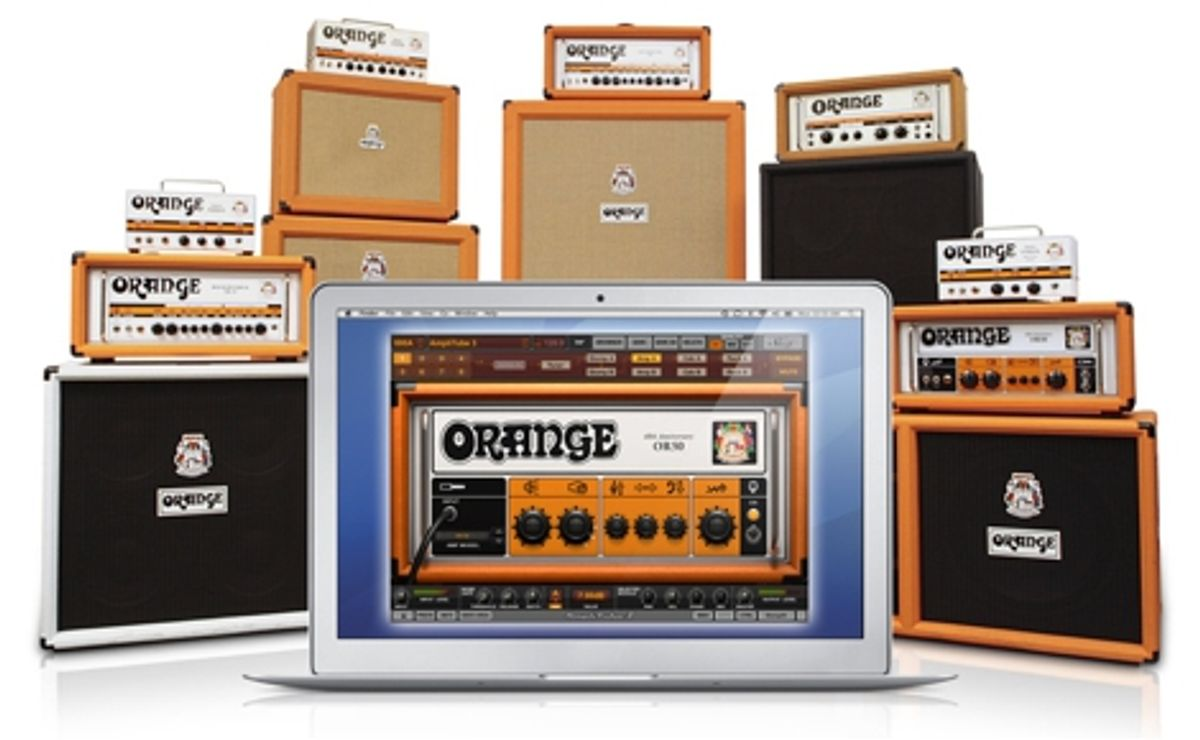 IK Multimedia Releases AmpliTube Orange