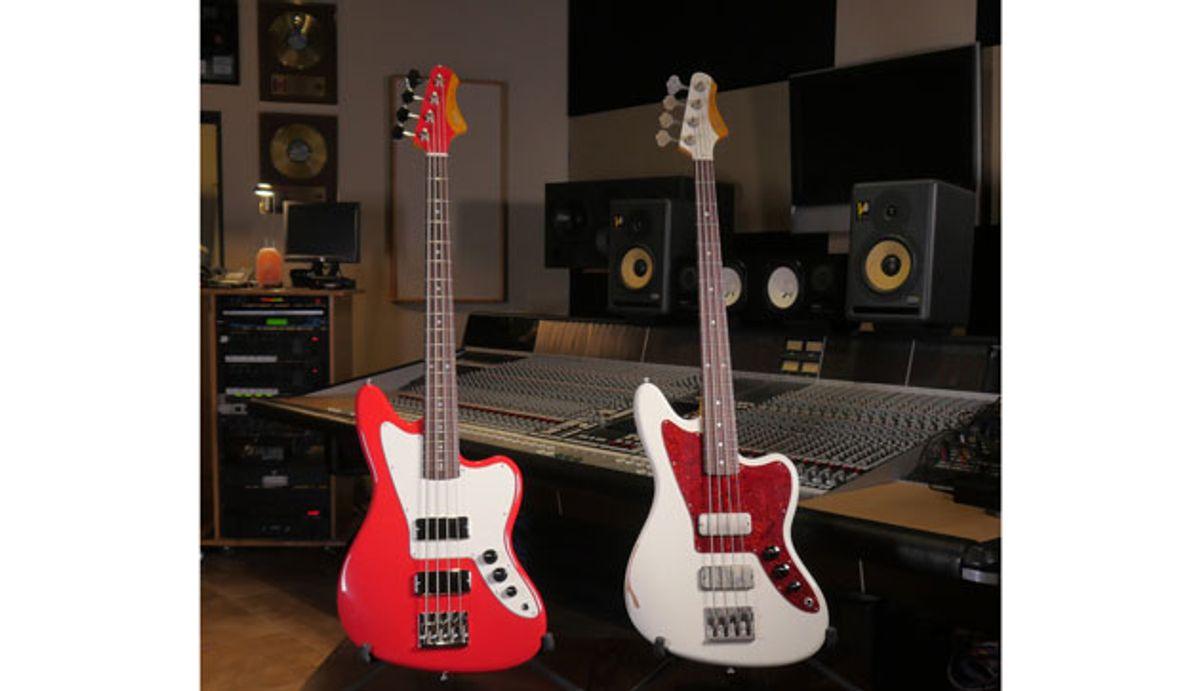 Fano Guitars Announces Launch of Standard Series JM4-FB Bass