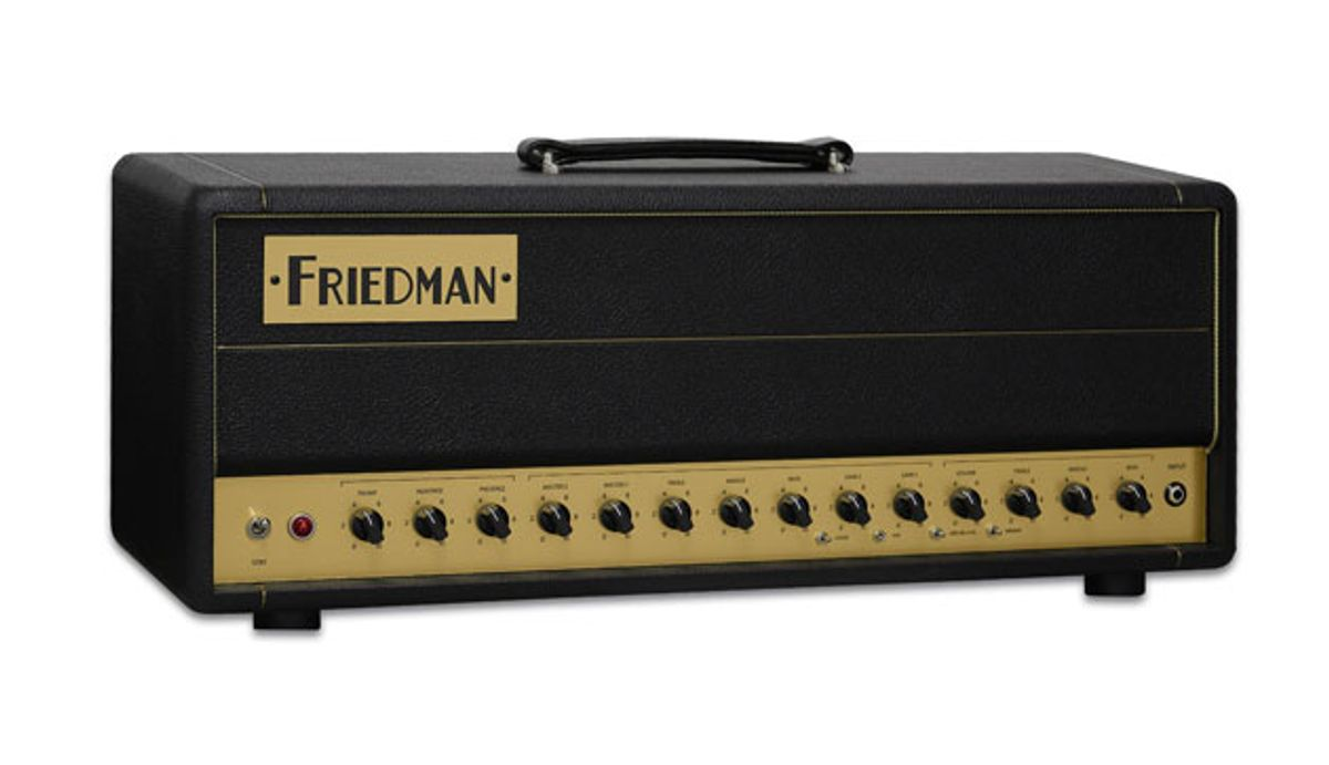Friedman Amplification Unveils the BE-50 Deluxe